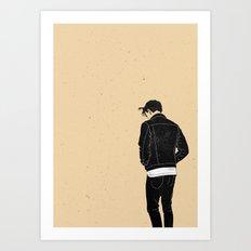(UN)LOST Art Print