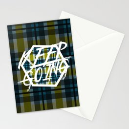 Keep Going 3 Stationery Cards