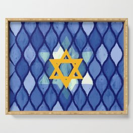 Jewish Celebration Serving Tray