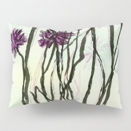 Invasive Knapweed Pillow Sham