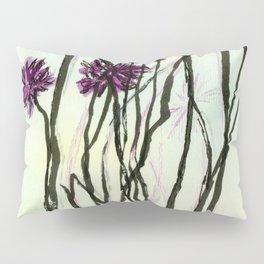 Invasive Knapweed Pillow Sham