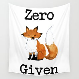 Zero Fox Given Wall Tapestry