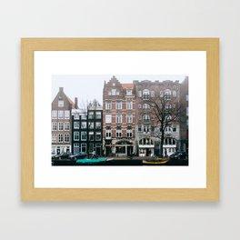 Centrum - Amsterdam, The Netherlands - #6 Framed Art Print