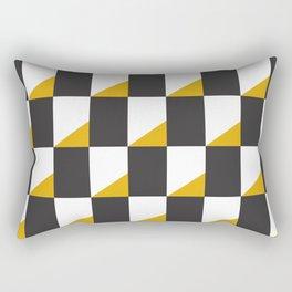 Retro Pattern - New York Rectangular Pillow
