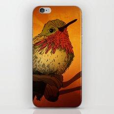 The Sunset Bird iPhone Skin