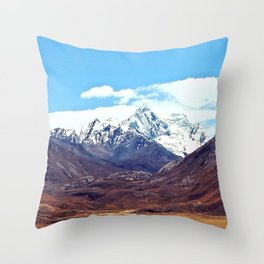 Near sky Throw Pillow