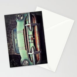 old green pontiac Stationery Cards