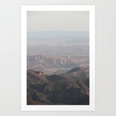 Rolling hills 3 Art Print