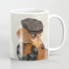 Elegant Mr. Dachshund Mug