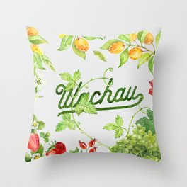 Fruits of the Wachau Throw Pillow