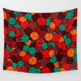 Dice Bag Wall Tapestry