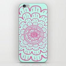 blue&pink iPhone & iPod Skin