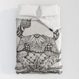 Zen Crab Comforters