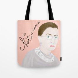 Notorious RBG RuthBaderGinsburg Tote Bag