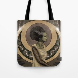Bride of Frankenstein Nouveau Tote Bag