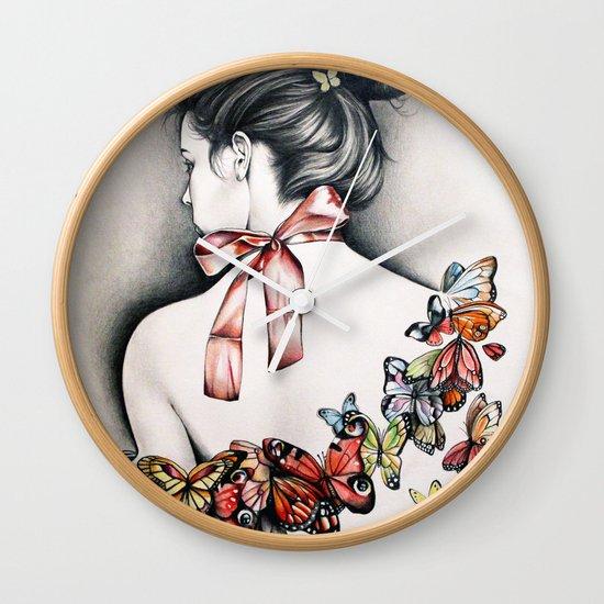 L'effet papillon Wall Clock