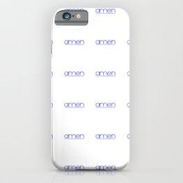 amen 2 iPhone Case
