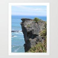 West Coast Formations Art Print