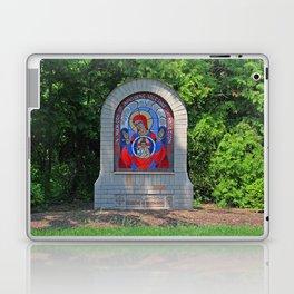 Lourdes University- Commemoration of the Unborn in the Spring (horizontal) Laptop & iPad Skin
