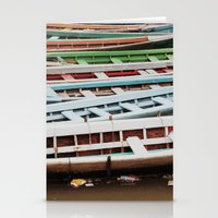 boats Stationery Cards featuring Boats by BTP Designs