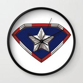 Puerto Rican Superhero - Boricua Hero Puerto Rico Wall Clock