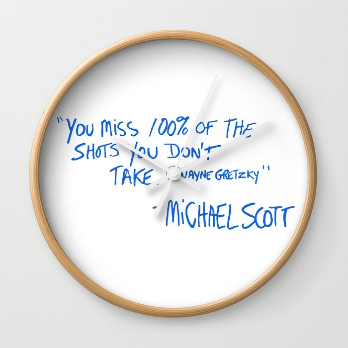 The Office Quote Wall Clock