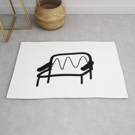 Squiggle Bench Rug