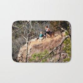 Climbing Up Sparrowhawk Mountain above the Illinois River, No. 8 of 8 Bath Mat