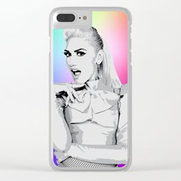 Gwen Clear iPhone Case