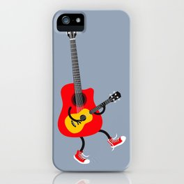 Dancing guitars iPhone Case