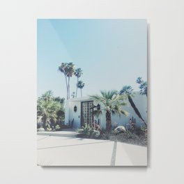 Palm Springs, Via Estrella Metal Print