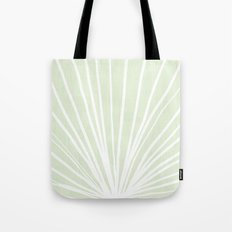 Dandelions in Mint by Friztin Tote Bag