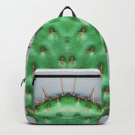 Prickly Pear Cactus Pad Backpack