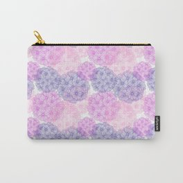 Abstract Verbena Flowers Carry-All Pouch
