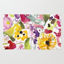 Jim Dandy Farm Flowers Rug