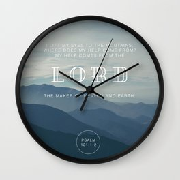 MY HELP Wall Clock