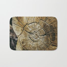 Wood Rings Bath Mat