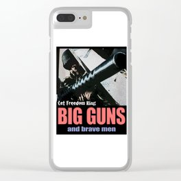 Let Freedom Ring Clear iPhone Case