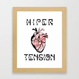 Tension. Framed Art Print