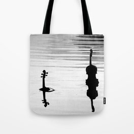 Submerged Strings Tote Bag