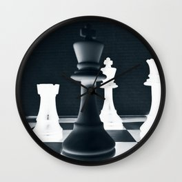Chess Master Wall Clock