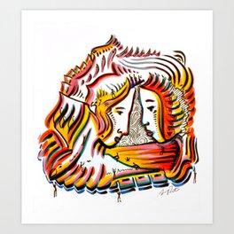 Original Art by Armando Renteria Art Print