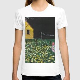yellow cottage T-shirt