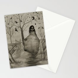 The Woman in Black Stationery Cards
