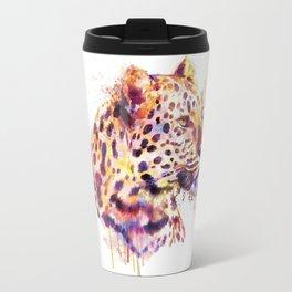 Leopard Head Travel Mug
