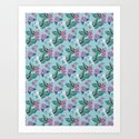 Vintage Orchid Tropical by ninamay