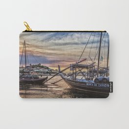 A sunset with a Port Glass Carry-All Pouch