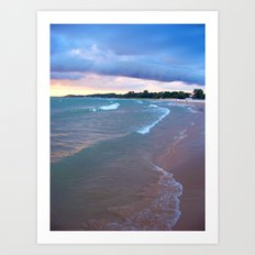 Ludington, Michigan Art Print