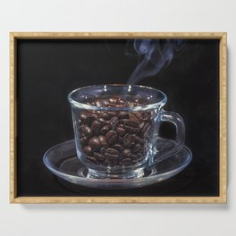 Coffee Time! Serving Tray