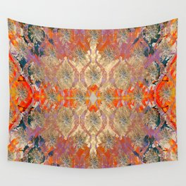 Mirrored Ogee Wall Tapestry